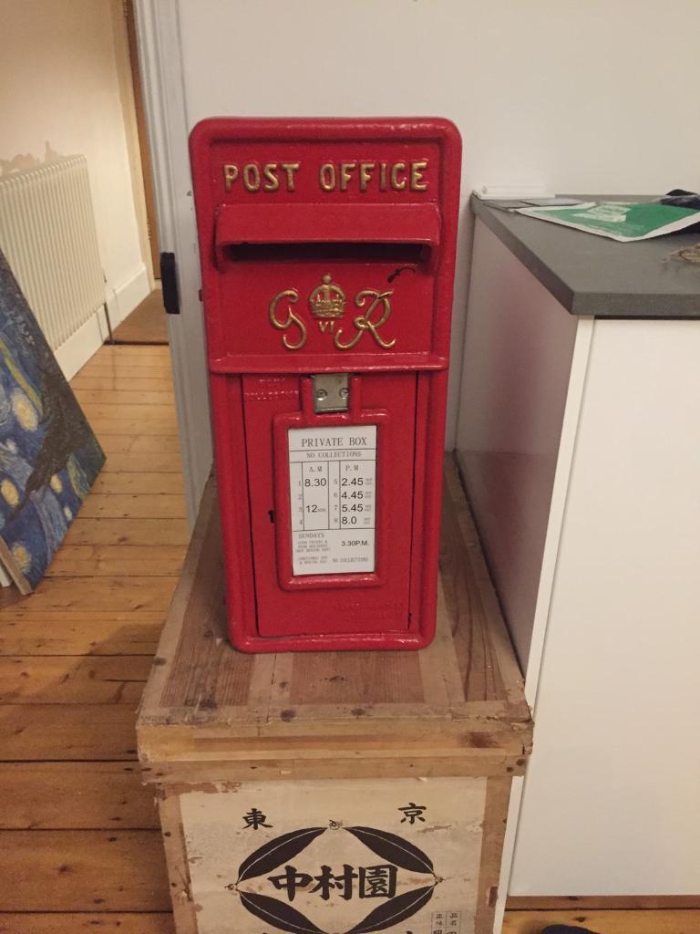 Royal Mail Post Box Wedding Letter Box In Watford Hertfordshire