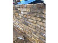 Old yellow stock bricks