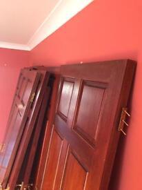 Used Hardwood doors