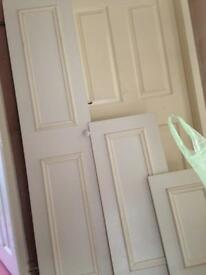Fitted bedroom doors x10