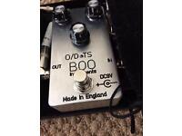 TS808 Tube Screamer cloned e by BooInstruments (UK handmade) as new!