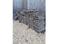 Roof Tiles. 350 plus. collection from Winterbourne Down