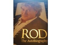 For Sale 'Rod Stewart' The Autobiography Book. Hard Back book in good condition.