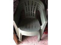 Free garden chairs x4