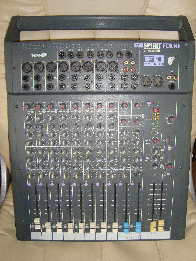 Soundcraft Spirit Folio F1 | in Ashford, Kent | Gumtree