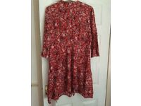 Warehouse Flower Print Dress Size 18