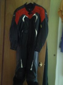 full leathers one piece
