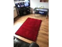 New Large red rug