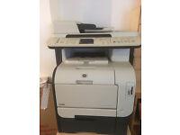 HP LaserJet CM2320fxi MFP Colour Multifunction Laser Printer, Scanner, Photocopier