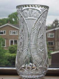 Beautiful Large Cristal Vase
