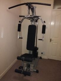 Kettler Powercenter Multigym with additional Leg Press and Weights