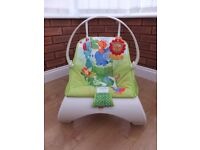 Fisher Price Rainforest Friends Comfort Curve Bouncer