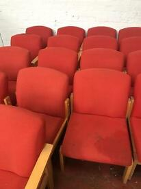 Orange Chairs - Require Light Cleaning