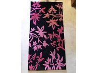 Pink/Black Rugs