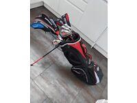 John Letters Golf Club Set & Bag (Irons, Woods, Driver, Putter)