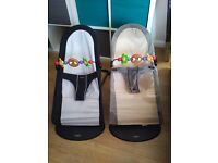 2 x Baby Bjorn bouncy chairs