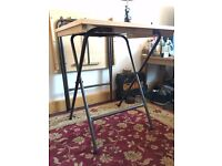 2x Foldable / Collapsible Small Tables / Desks