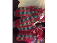 Ski suit girl 3-4 y two-pieces