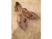 Size 5 Grey Shoes