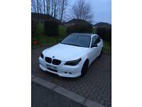BMW 535d 2005 twinturbo 360bhp top speed 166mph!!!