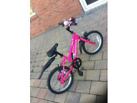 Kids' pink ridgeback mountain bike