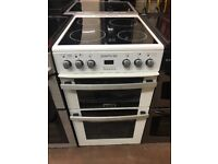 50CM WHITE ZENITH ELECTRIC COOKER