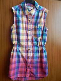 M&S Indigo Girl's Sleeveless Dress Top