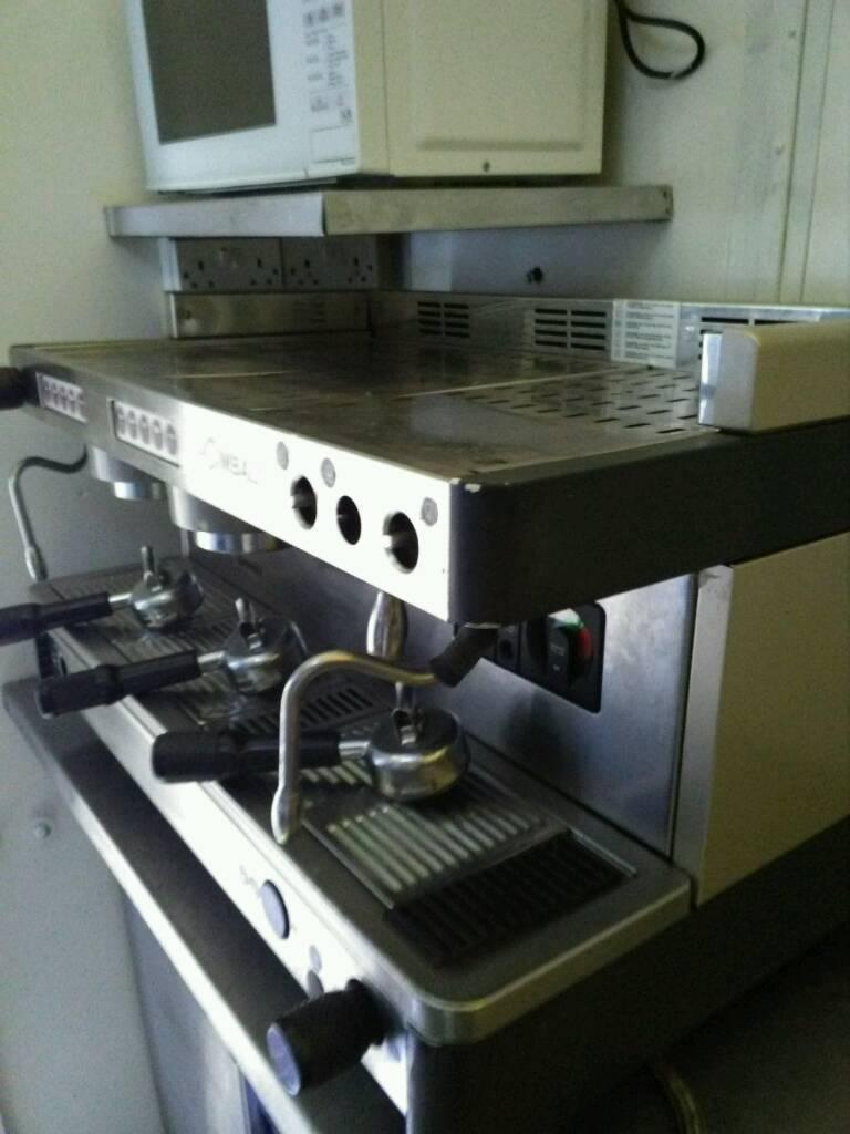 La.cimbali italian coffee machine