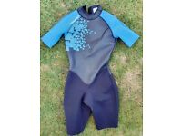 Child's shorty wetsuit (14 Y/O)