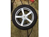 "Fox Alloy wheels 17"" inch Renault clio espace kangoo laguna megane Suzuki grand vitara alloys wheel"