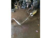 honda prelude 4 gen stainless steel exhaust