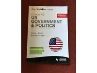 US Government and Politics revision guide