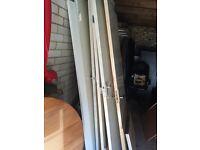 FREE!!! 4x solid wooden doors, 1x glass door