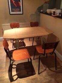 Ikea PS 2012 dining table and 4 chairs