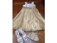 Girls Occasion Dress with matching Accessories