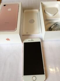 Apple iPhone 7 - 32GB - Rose Gold (EE) A1778