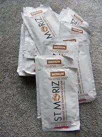 St Moriz Instant Self Tanning Lotion(Shade Medium) 50ml Sachetsx20 Expire 10/17