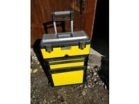 Stanley rolling trolley tool box
