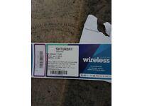 Wireless Festival Ticket