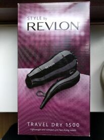 Style by Revlon Travel Dry 1500