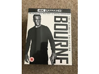 All Jason Bourne films on 4k UHD - brand new, sealed in box. Over £15 cheaper than Amazon
