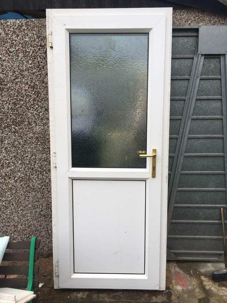 Upvc Back Door Frosted Glass In Great Barr West