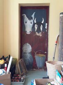 NURSERY DOOR (Farm yard decoration)