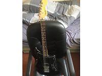 Fender Jazzmaster HH blacktop