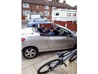 ***bargain Peugeot 206 convertible for sale***