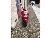 Beautiful Red Vespa for sale