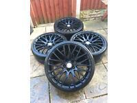 "5x120 calibre Altus 19"" alloy wheels NO TYRES Bmw 1 series 3 series"
