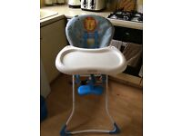 High Chair . Very good condition, washed and cleaned. Very easy to use.