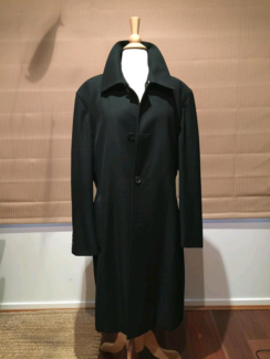 HUGO BOSS Wool Top Coat