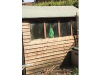7x5 shed for sale make an offer take away today